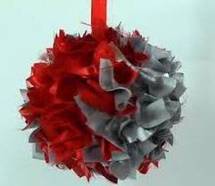 Image result for esferas unicel navideñas