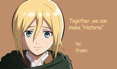 goddess historia Valentine's Day card