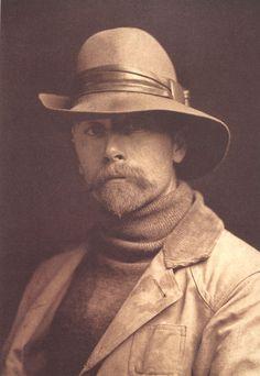 Edward Sheriff Curtis, self-portrait, 1899
