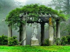 Garden folly; site unknown. From My inner landscape on Tumblr
