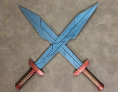I built Thor's Gladiator swords from Ragnarok!