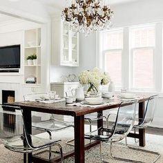 sillas de comedor de fantasmas mesa de comedor comedores cocina ikea comedor cocina estilo en el hogar cocinas rsticas estilo silla