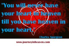 Quotes about heaven - Charles Spurgeon Heaven Quotes, Charles Spurgeon, Neon Signs