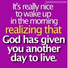 god morning quotation