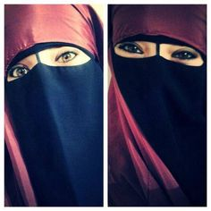 Beautiful niqab.