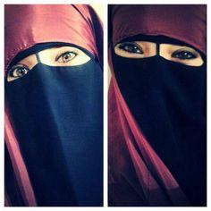 Beautiful niqab.