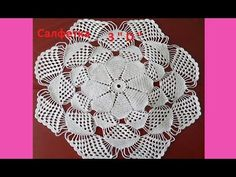 "FINALLY!! A wonderful person has uploaded instructions for making this Holy Grail of Doilies!!  Салфетка 3"" Д "" Crochet napkin  ( узор №134)"