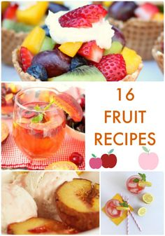 16 Fruit Recipes