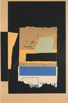 """Louise Nevelson, Solitude, 1986, collage and lithograph, 40.50"""" x 27.75"""""""