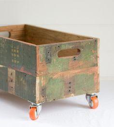 Crate wheels