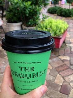Branding of coffee cup | Grounds of Alexandria