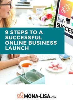 Get the guide 9 steps to a successful online business launch - free of charge! How To Start A Blog, How To Make Money, Successful Online Businesses, Creating A Blog, Business Advice, Business Launch, Product Launch, Personal Care, Marketing