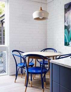 The Design Files - A Humble 70s Townhouse Gets A Contemporary Shake-Up - Photo, Caitlin Mills. Styling –Tamara Maynes.