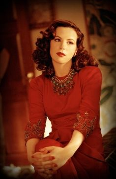 Kate Beckinsale as Ava Gardner in The Aviator (2004) costumes designed by Sandy Powell