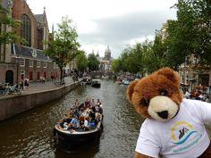 Der Urlaubär von ferienwohnungen.de in Amsterdam, Niederlande ... #urlaubär #amsterdam