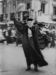 Anna Howard Shaw, a suffragist leader, 1920