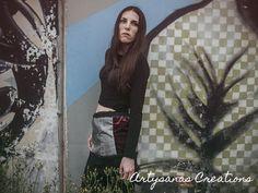 www.artysanas.blogspot.com www.facebook.com/artysanas  #faldas #faldilles #skirt #handmade #hecho a mano #artysanas #artesania #artesanum #bohemian #rock #jupe #textil