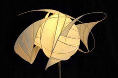 Sculpture lumineuse par Viorel G. Hodre