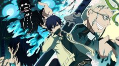 Ao No Exorcist Rin Shiro and Satan Wallpaper