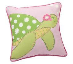 Turtle Outdoor Throw Pillow