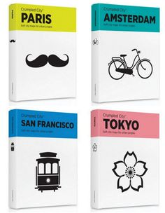 Crumpled city | Book covers