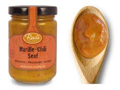Marille Chili Senf - fruchtig   prickelnd   scharf. Probieren Sie diesen fruchtig-prickelnden Marille Chili Senf zu Fleisch, Fisch und Gemüse oder zum Verfeinern von Suppen und Saucen. Salaten gibt dieser Senf in Vinaigrettes eine ganz besondere, pikante Note.