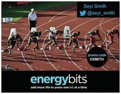 "OLUSEYI (SEYI) SMITH: Oluseyi is a Nigerian born, Canadian National Team Track & Field athlete! Oluseyi competed in the London 2012 Summer Games in the 4x100m team relay event. "" I am looking to perfect my diet to help my training and competitions. I read and heard good things about BITS. I include BITS before, during and after training to help energy levels, focus and recovery. It is all about getting the best training effect."""