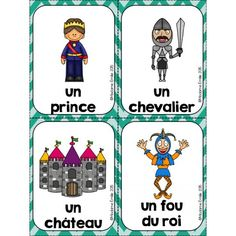 Chateau Moyen Age, Prince And Princess, Ladies Party, Middle Ages, Tarot, Kids Toys, Dragons, Medieval, Preschool