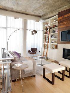 loft living room inspiration