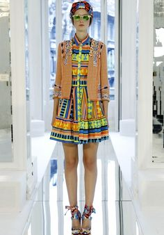 """This MSGM look says a lot of things. One of them: """"Do not fear color. Do not fear color. Do not fear color."""" —erica"""