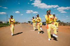 Reason #13 We have the African 'Riverdance'