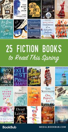 Great new fiction books to read this spring. These new releases are great books for women, and include romance, thrillers, historical fiction novels, and more.