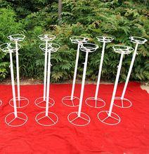 120cm Height Road Lead Props Wedding Flower Iron stands Frame Wedding Decoration Bracket Holder Pillar(China (Mainland))