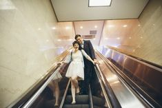 Jasmyn and Jacob's Unconventional Chicago Courthouse Wedding. Photography by Andrey Mikityuk on @intimatewedding