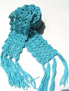Shelly Scarf....I have made this scarf (without the tassles) for many of my friends.