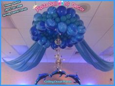sea theme quinceanera | Ocean/Under the Sea Quinceañera Party Ideas | Photo 2 of 7 | Catch My ...