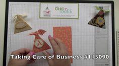 Triangle paper box