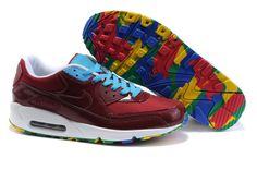 New Nike Air Max 90 Online Blue Brown White Shoes, AUD $91.81 | wwwontopshoes.com