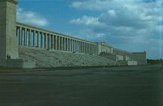 Neoclassical 4 Zeppelin Field Nuremburg 1937 The faithful pricks would meet here once a year