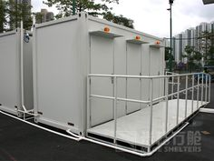 The mege container toilet, More questions and more information pls contact: info@megeshelters.com, and check: www.megeshelters.com