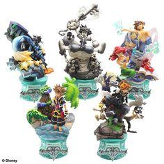 Disney Characters - Formation Arts Disney Kingdom Hearts II -Vol.3- BOX by Square Enix