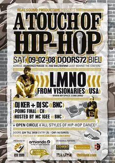 Hip Hop Dance, Dj, Event Posters, Hip Hop Dances, Hiphop
