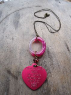 pink rabies by ljctree on Etsy, $12.00