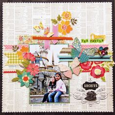 'The Castle' layout by Iris Babao Uy