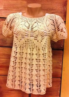 Delicadezas en crochet Gabriela: Blusas y falda                                                                                                                                                     Más