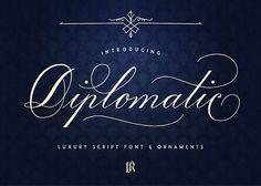 Diplomatic Font | GRAPICX