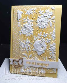 A Latte – Leonie Schroder Stampin' Up!® Demonstrator Australia - Stampin' Up! with Leonie Schroder Independent Stampin' Up! Penny Black, Handmade Birthday Cards, Diy Birthday, Birthday Parties, Making Greeting Cards, Embossed Cards, Card Making Techniques, Stamping Up Cards, Embossing Folder