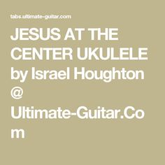 jesus at the center chords pdf