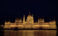 Houses of Parliament, Budapest by Richard Hamilton