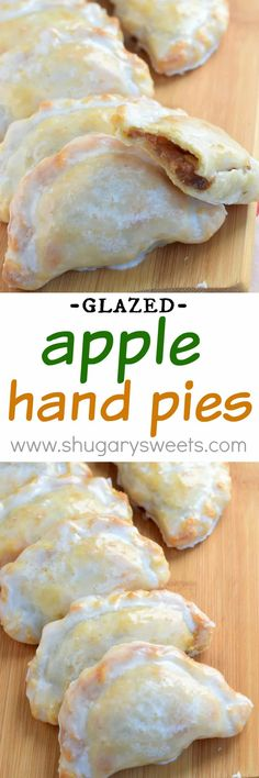 These Glazed Apple Hand Pies are the perfect fall treat. And in only 30 minutes These Glazed Apple Hand Pies are the perfect fall treat. And in only 30 minutes youll have one of these delicious baked treats in your hands! Apple Recipes, Fall Recipes, Sweet Recipes, Pie Dessert, Dessert Recipes, Oreo Desserts, Plated Desserts, Apple Hand Pies, Delicious Desserts